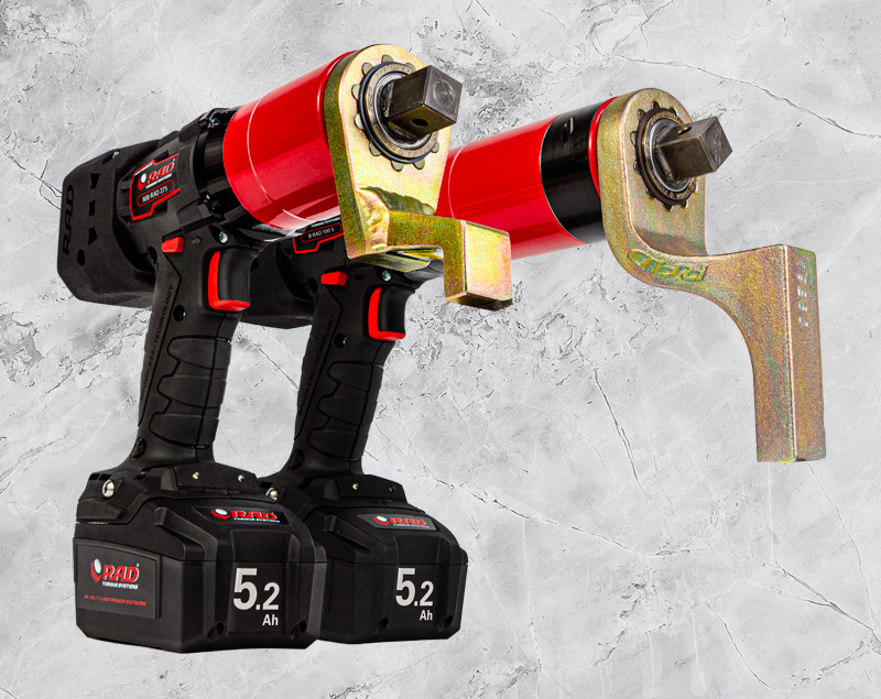 Torque Repair Services - products - rental - Accu-powered Wrenches