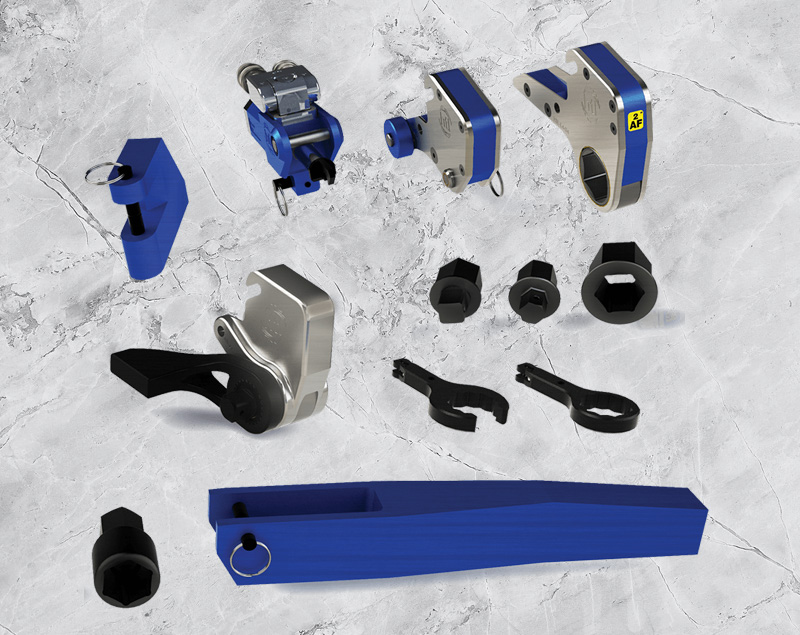 Torque Repair Services - products - rental - Maintenance tools for Heat Exchangers parts