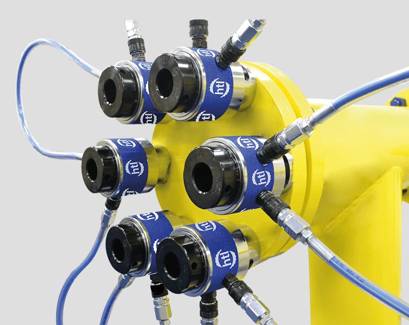 Torque Repair Services - producten - verhuur - Hydraulische Tensioners - spring bolt tensioners